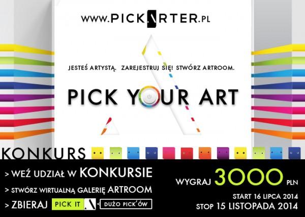 PICKARTER_PLAKAT_KONKURS 15 LISTOPADA 2014
