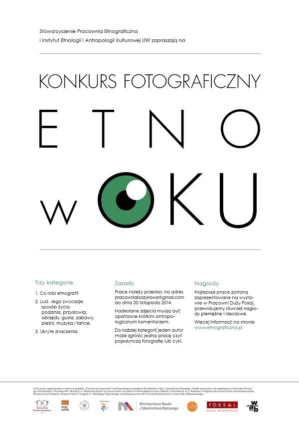 Etno w oku - plakat