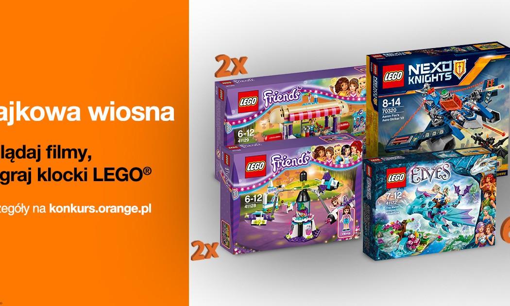 Wygraj Klocki Lego Z Orange Konkursy Kreatywne