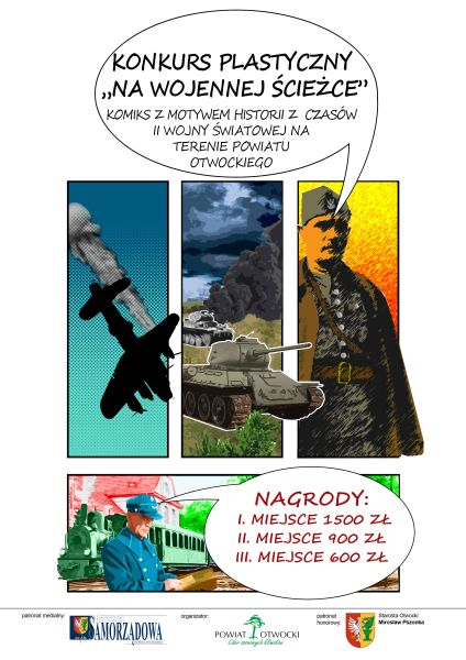 plakat konkurs komiks II wojna600x400